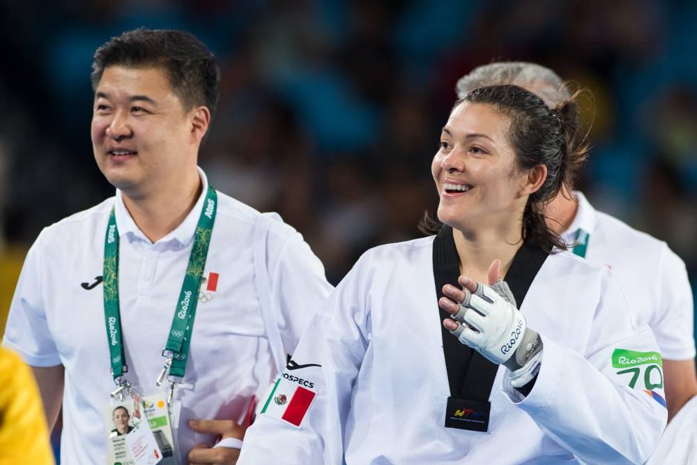 María Espinoza es la primera mujer en conseguir tres medallas para México -  AS México