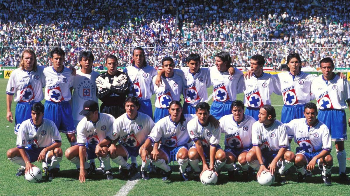 65a0bd2ce06 ¿Qué fue de los campeones de Cruz Azul en 1997  - AS México