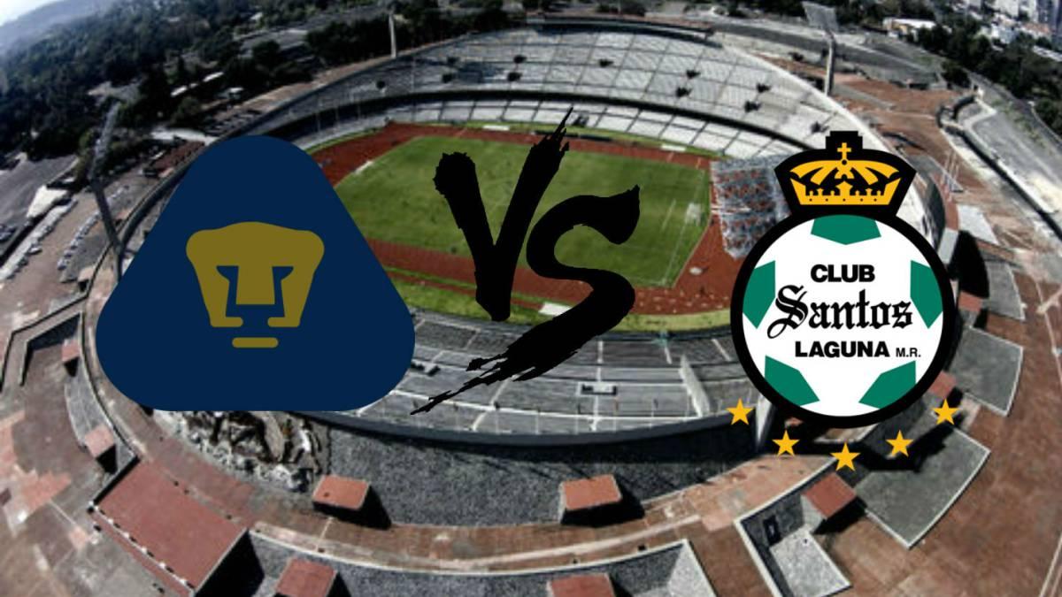 princesa Fascinar Lluvioso  Pumas vs Santos (2-1): Resumen del partido y goles - AS México