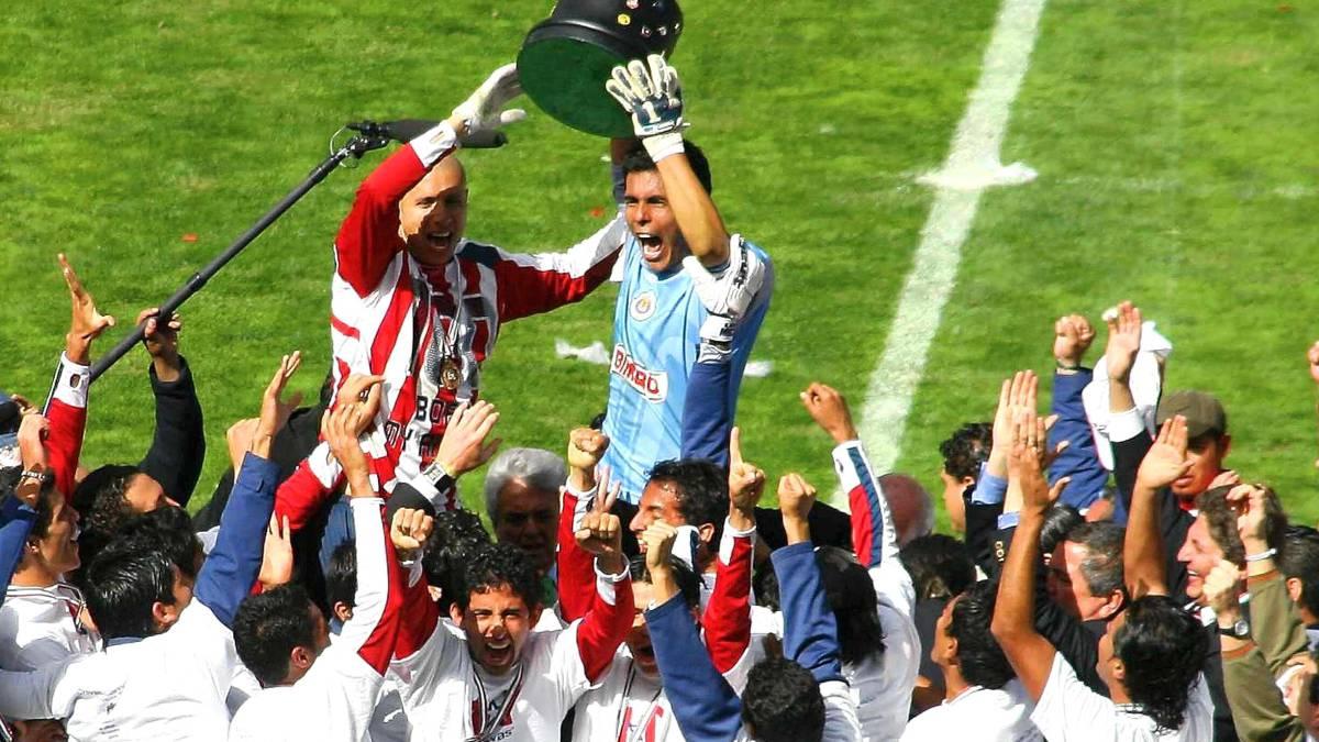 Resultado de imagen para chivas campeon 2006