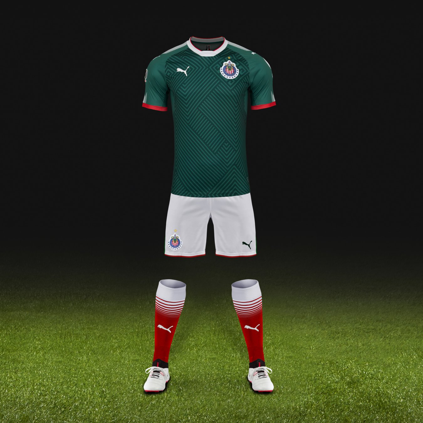 Chivas presenta nueva playera verde para el Apertura 2017 - AS México 1e32f099ea6a6