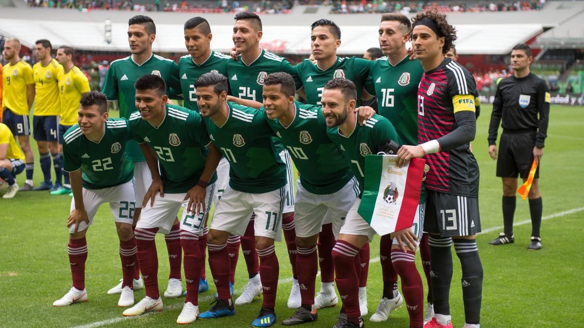 Selección Mexicana  los números que usará el Tri en Rusia 2018 - AS ... f4c6c75e93c17