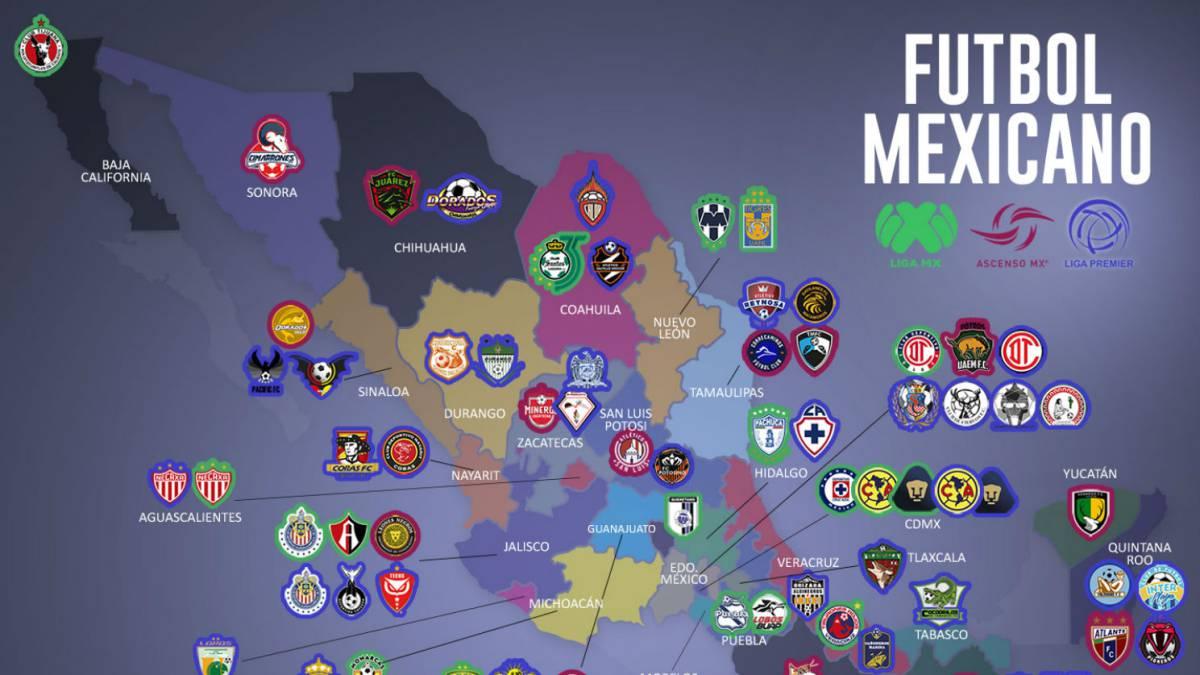Solo Tres Estados No Disfrutan Del Futbol Profesional En Mexico