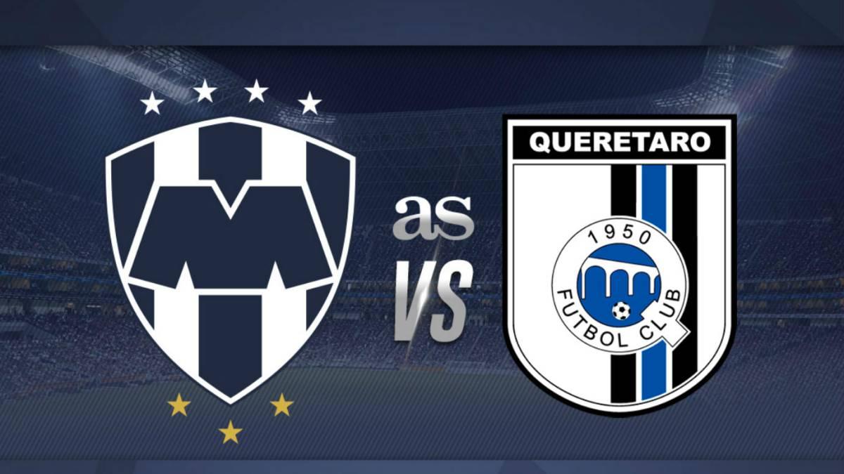 Kết quả hình ảnh cho Queretaro vs Monterrey
