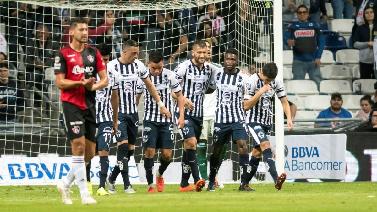 Monterrey – Atlas (3 1): Resumen del partido y goles AS México