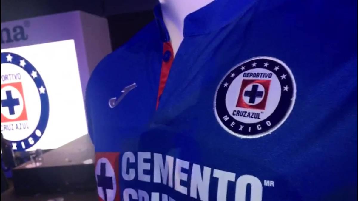 d50490a8111 Los nuevos uniformes de Cruz Azul