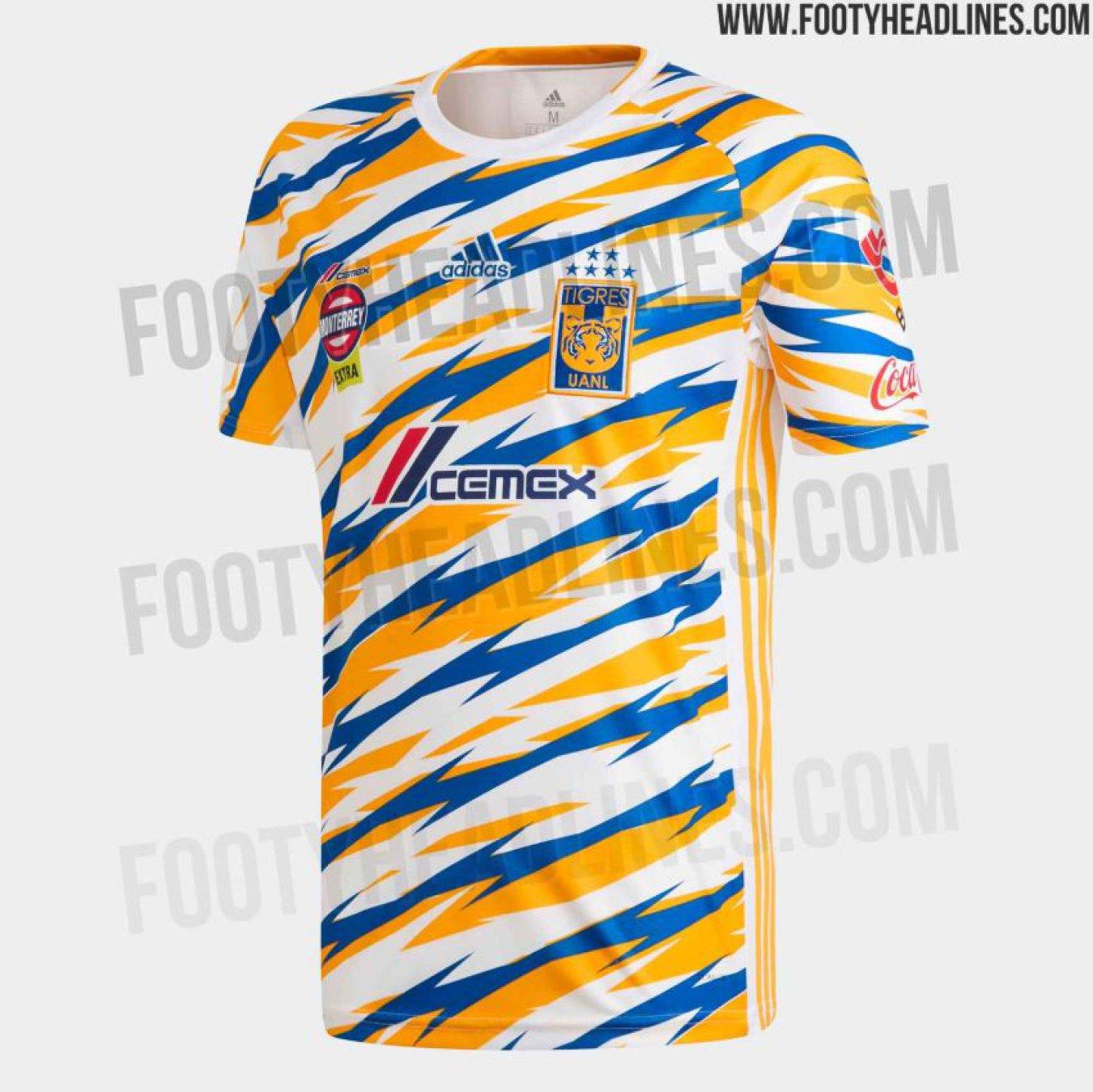 e1ca038ec6263 Circula posible tercer uniforme de Tigres para el Clausura 2019 - AS ...