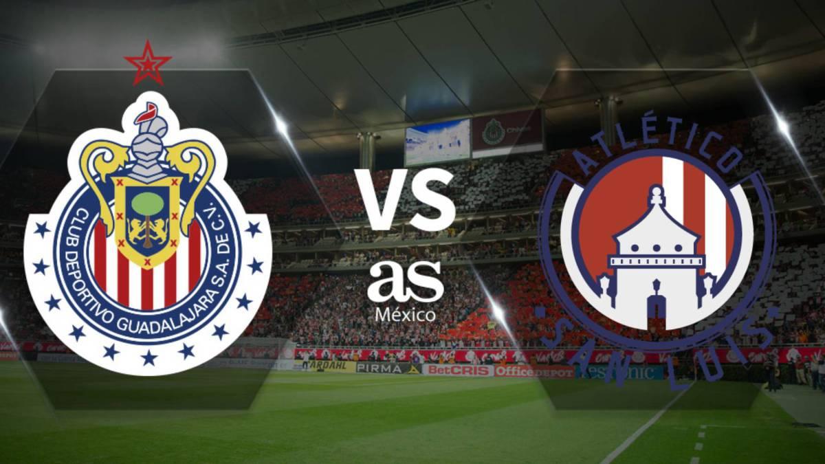 Kết quả hình ảnh cho Guadalajara Chivas vs San Luis
