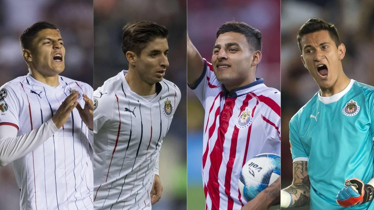 Chivas es el equipo que más aporta a la Selección Mexicana - AS México 83263ca9305b4