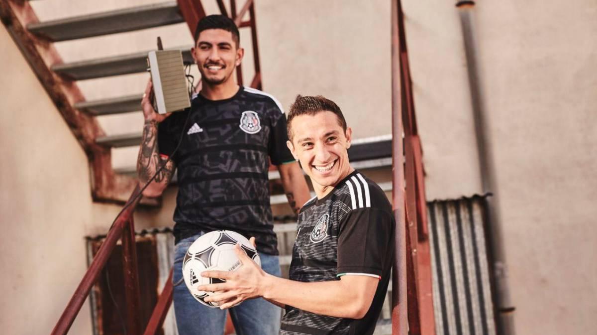 La Selección Mexicana estrenó camiseta para la Copa Oro - AS México 414c9c52a88fc