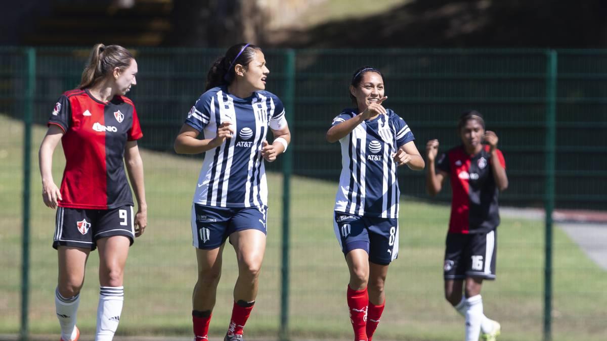 Atlas Monterrey (0 3): Resumen del partido y goles AS México