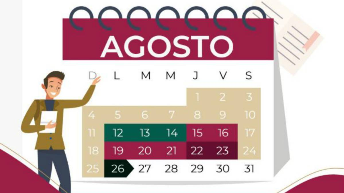 Calendario Agosto 2019 Julio 2020.Calendario Escolar Sep 2019 2020 Fechas Y Dias Importantes