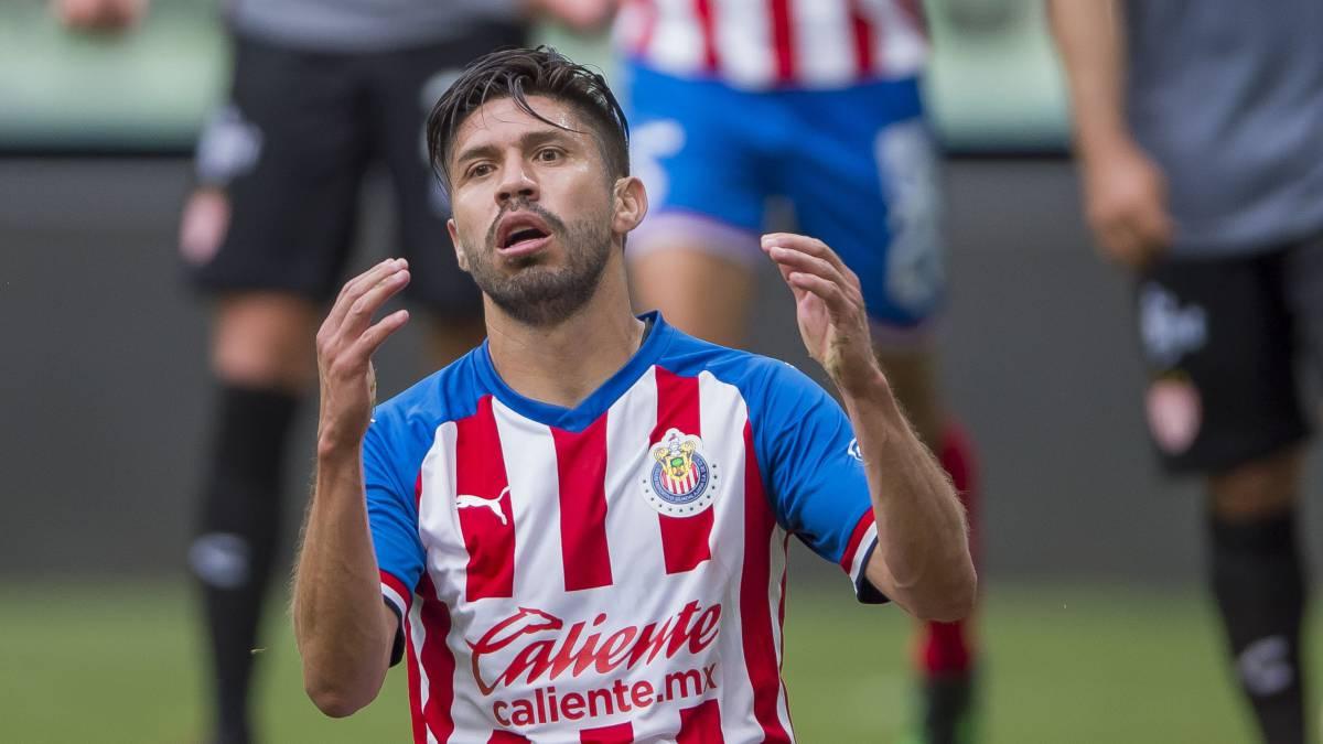 Oribe Peralta, la peor elección que pudo tomar Chivas en ataque ...