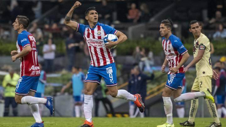 America Chivas 4 1 Resumen Del Partido Y Goles As Mexico
