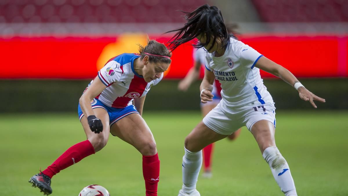 Chivas Y Cruz Azul Empataron En La Jornada 1 De La Liga Mx Femenil