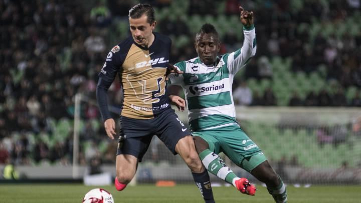 Ostentoso pedal evidencia  Santos Laguna - Pumas (1-1): Resumen del partido y goles - AS México