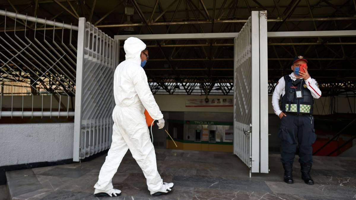 Mueren reos en México por coronavirus y casi 80 infectados