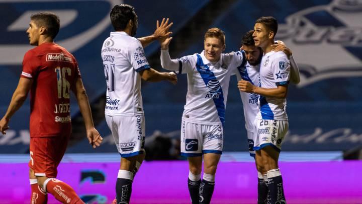 Puebla goleó a Toluca en la fecha 7 del Guardianes 2020 - AS México