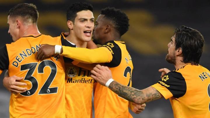 Raúl Jiménez anota en el empate entre Wolverhampton y Newcastle, es su cuarto tanto de la temporada