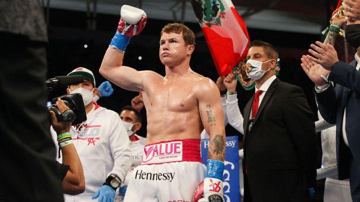Canelo Álvarez reveló que le encantaría pelear en Inglaterra.