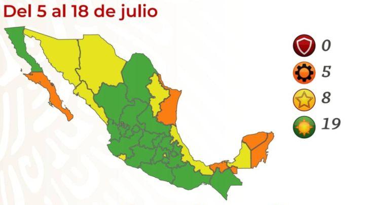 Coronavirus en México: casos, vacuna y semáforo COVID | Últimas noticias  hoy, 2 de julio - AS México